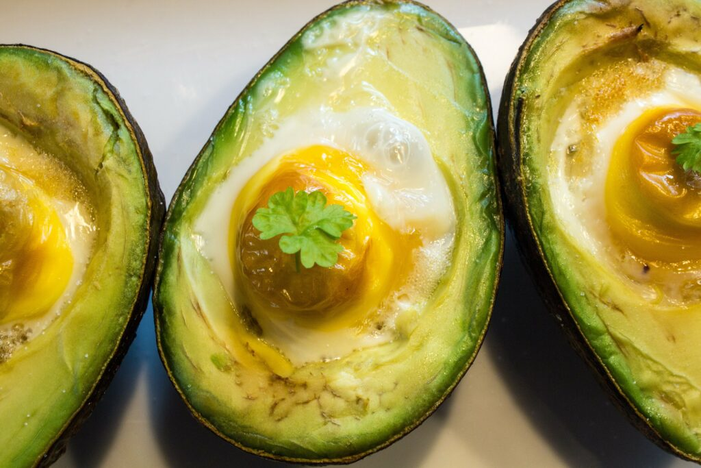 Recipe: Avocado Egg Bake